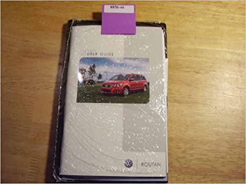 Amazon Com 2010 Volkswagen Routan Owners Manual Books