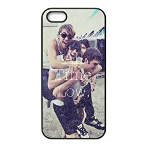 the Case Shop- Customized All Time Low Band TPU Rubber Case Cover Skin for iPhone 5 and iPhone 5S , i5xq-729