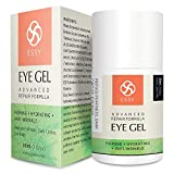 Eye Gel for Dark Circles, Puffiness, Wrinkles and Bags,Fine Lines. - The Most Effective Anti-Aging Eye Gel Under and around Eyes- 1 fl OZ