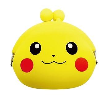 la cara del monedero de silicio Pokemon (Pikachu) POCHI ...