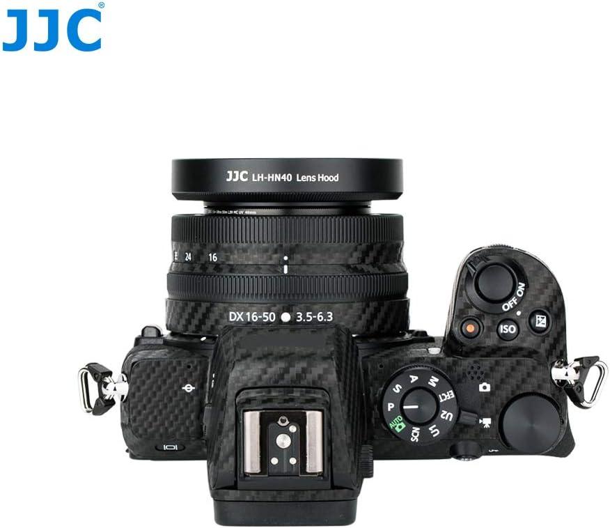 JJC LH-HN40 Metal Lens Hood for Nikon NIKKOR Z DX 16-50mm f//3.5-6.3 VR Lens Replaces Nikon HN-40