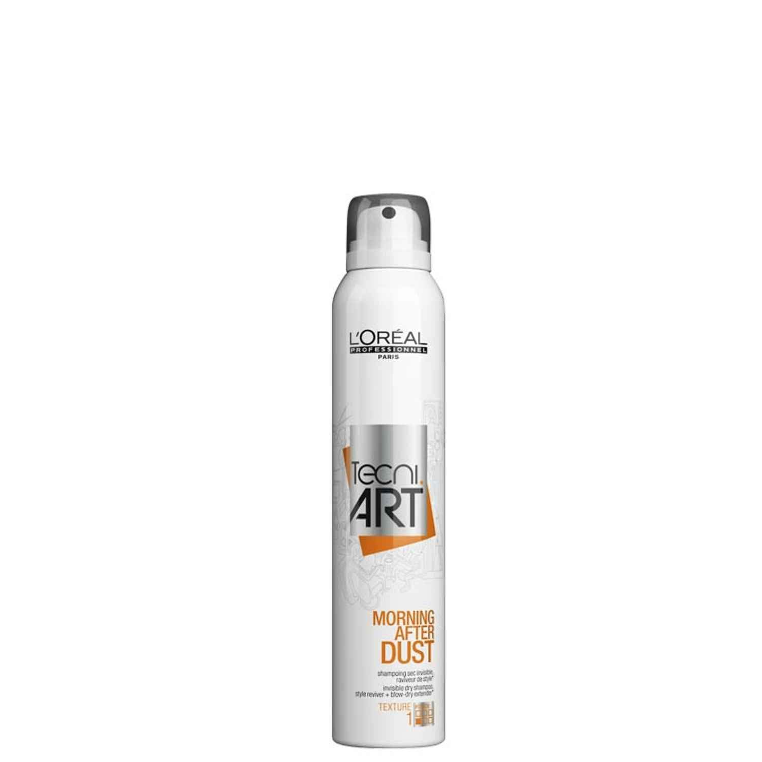 Loreal Tecni Art Morning After Dust Invisible Dry Shampoo 200ml 6.8oz