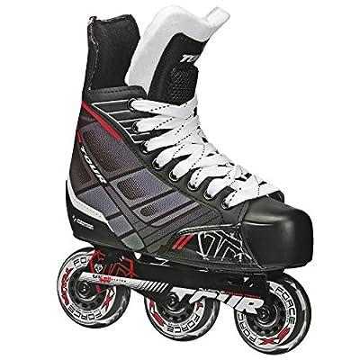 TOUR Hockey FB-225 Junior Inline Hockey Skates Black/White/Red : Sports & Outdoors