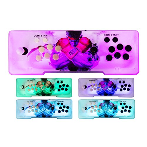 Happybuy Video Game Console, Arcade Machine 1500 Classic Games, 2 Players Pandora's box 5S multiplayer home Arcade Console 1500 Games All in 1 NON-JAMMA PCB Double Stick Newest Design Buttons Power HD by Happybuy (Image #6)