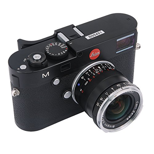 Haoge THB-M24B Metal Hot Shoe Thumb Up Rest Hand Grip for Leica M Typ240 M240, M-P Typ 240 M240P, M Type262 M262, M-D Type 262 Camera Black