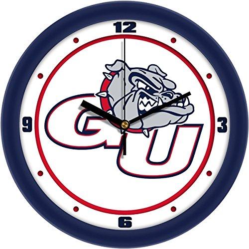 SunTime NCAA Gonzaga Bulldogs Traditional Wall Clock