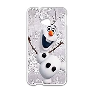 Olaf HTC One M7 Cell Phone Case White DIY Gift zhm004_0509337