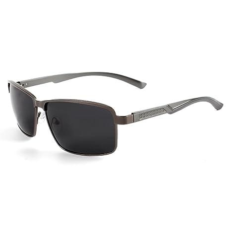 Goolife - Gafas de Sol polarizadas para Hombre y Mujer, protección UV 400, A