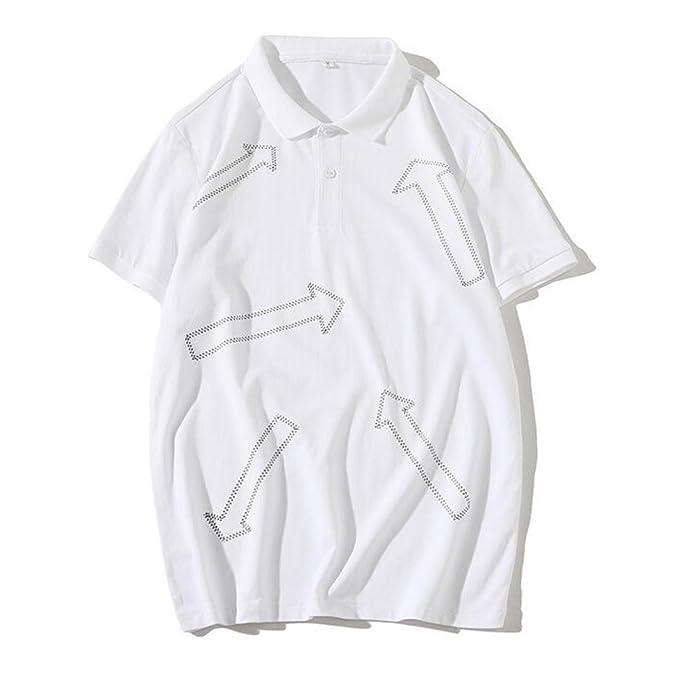 Camiseta Polo De Verano para Hombre Camiseta De Manga Corta Casual ...