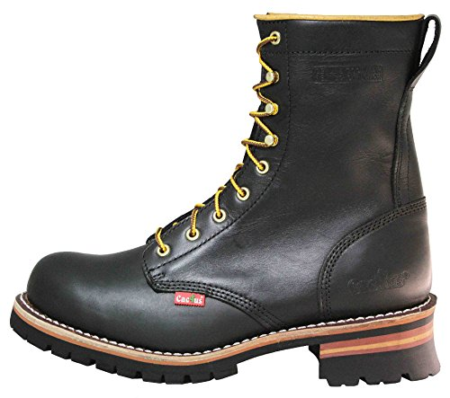 Cactus Mens 9 9219 Logger Boot Black 3l9GYk
