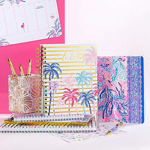 Lilly Pulitzer Womens' Mini Notebook, Aquadesiac by Lilly Pulitzer (Image #3)