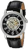 Stuhrling Original Men's 107A.33151 Classic Delphi Apollo Automatic Skeleton Black Watch