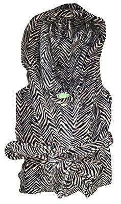 Vera Bradley Women Hooded Fleece Robe
