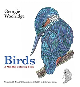 Amazon.com: Birds: A Mindful Coloring Book (9781250095022 ...