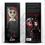Luna The Goth Rag Doll - Boxed - Collectible Mystic Creepy Sad Doll - Great for Rituals