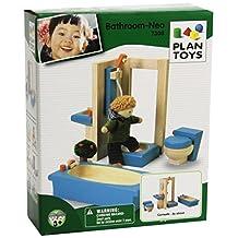Plan Toys PLAN TOYS Dollhouse Furniture - Neo Bathroom