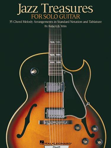 Jazz Treasures for Solo - Guitar Tablature Jazz