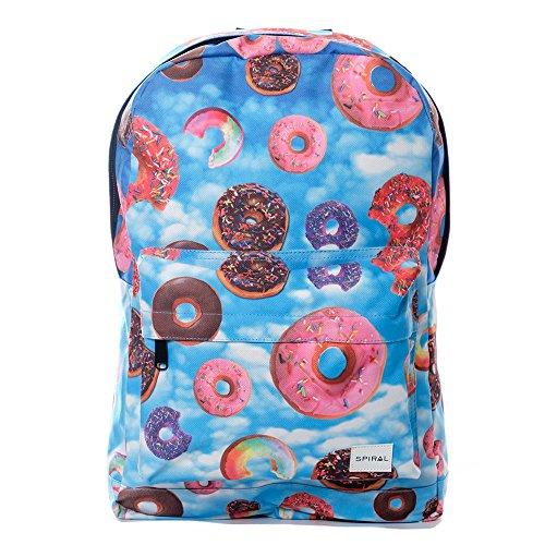 Spiral, Sac  dos enfant Multicolore Donut Sky 29cm x 14cm x 44cm
