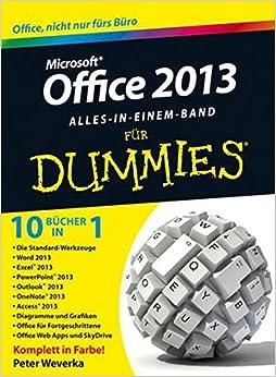 Book Office 2013 Fur Dummies Alles in Einem Band (F??r Dummies) by Peter Weverka (2013-06-05)