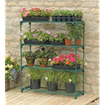 Gardman 4-Tier Greenhouse Staging