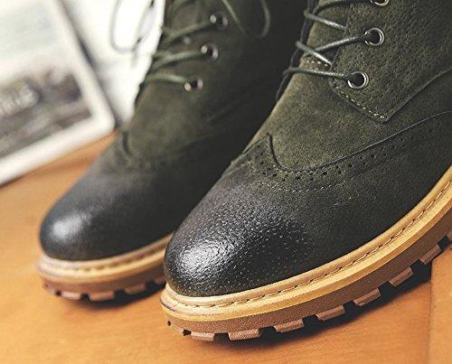 peluche maschi per In Harajuku studenti 43 verde inverno gli puliti stivali aiutare BqxxC6a0Ww