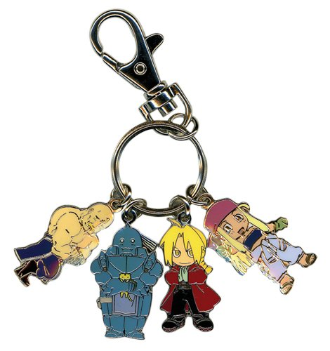 Fullmetal Alchemist: Group Metal Key - Full Metal Keychain Alchemist