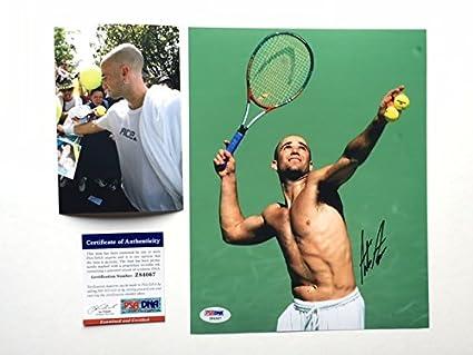 d9edaf50e96ed6 Andre Agassi Rare! signed autographed tennis 8x10 photo PSA DNA cert ...