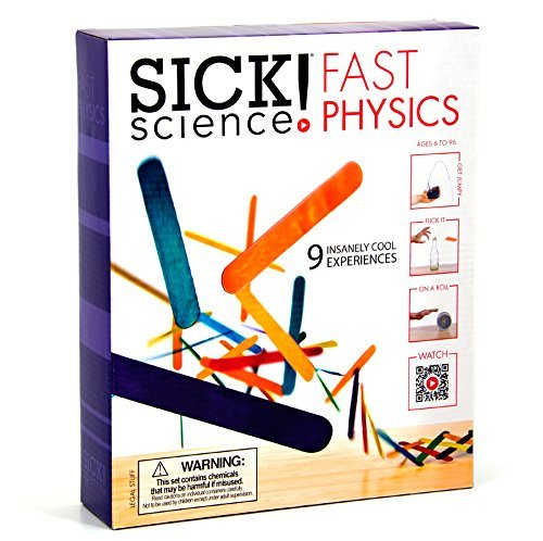 Sick Science Fast Physics Kit by Be Amazing! Toys