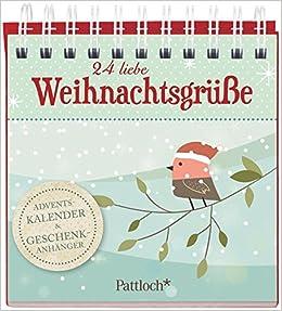 24 Weihnachtswünsche.24 Liebe Weihnachtsgrüße Adventskalender Geschenkanhänger Amazon