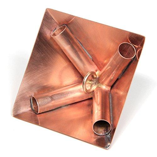 Polished Copper Meditation Pyramid Connector Kit