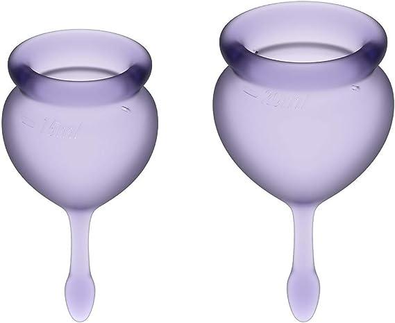 Satisfyer Feel Good - Menstrual Cup Set, 15 & 20 ml