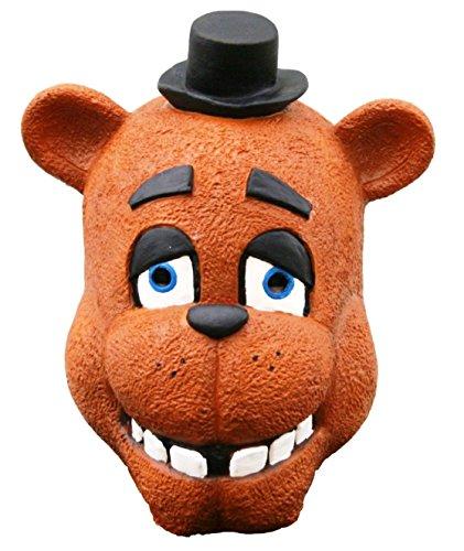 Five Nights at Freddy's Latex Freddy Adult Size Mask (Freddy Mask)