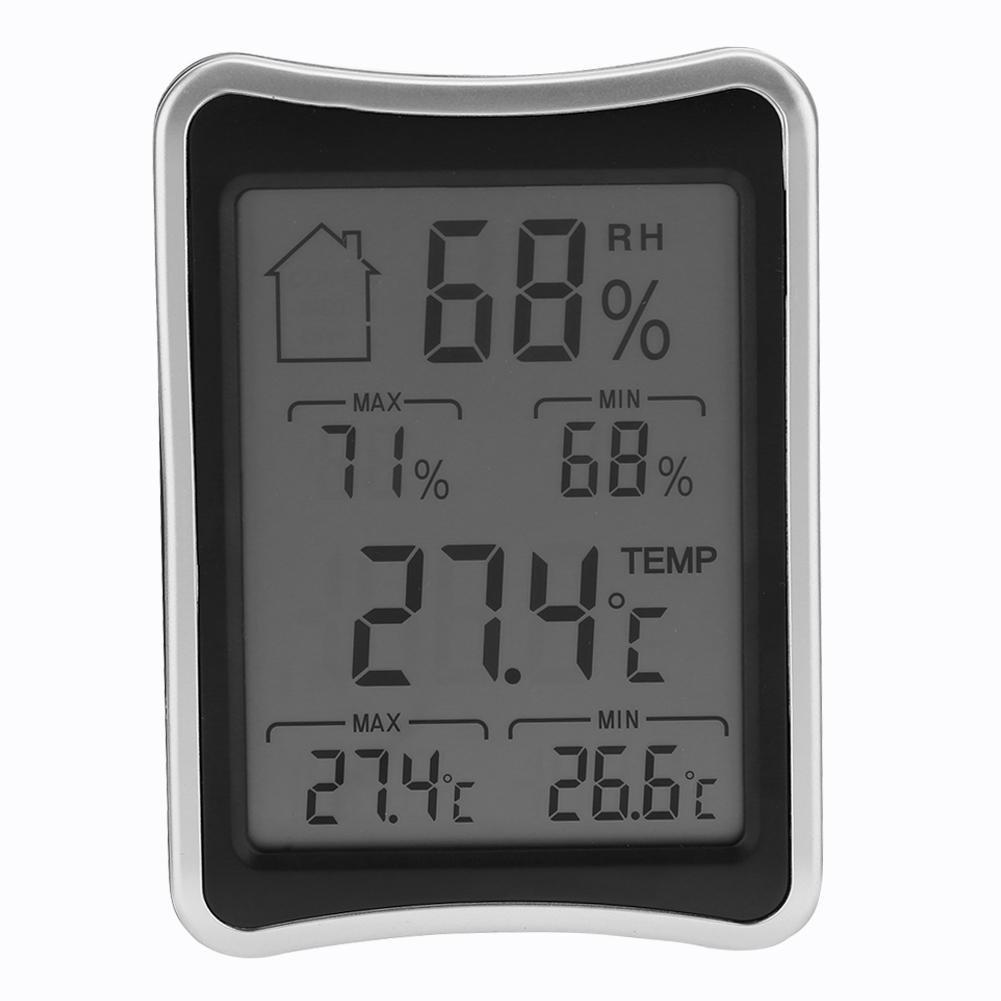 Thermom/ètre Hygrom/ètre Num/érique,vanpower Thermom/ètre int/érieur sans fil num/érique hygrom/ètre moniteur dhumidit/é avec LCD