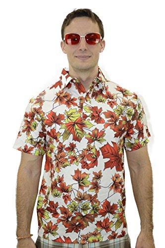 Maple Leaves Shirt Leaf Costume Good Quality (S)