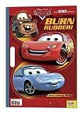 Burn Rubber! (Disney/Pixar Cars) (Giant Coloring Book)