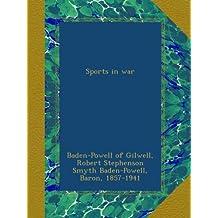 Sports in war