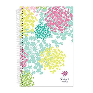 "bloom daily planners Bound To-Do List Book - Planning System Tear Off To Do Pads - UNDATED Daily Planner To Do Pad 6"" x 8.25"" - Bloom"