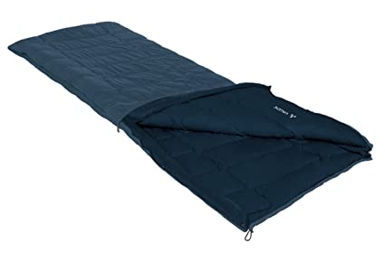VAUDE Kunstfaser Navajo - Saco de dormir rectangular para acampada