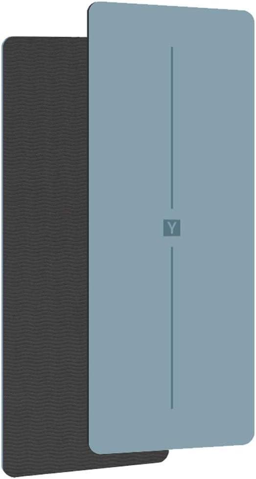A 6mm Yoga-Matte TPE Anfänger Männer und Frauen Verdickung verbreitert Lange rutschfeste Fitness-Matte Haushalt Bodenmatte