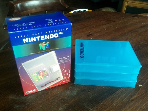 Nintendo 64 Clear Game Case pack