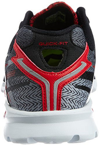 Skechers Heren Go-run 4 Zwart / Rood-bkrd