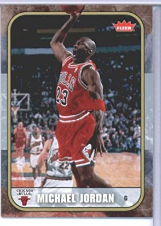 ca6f75f1f52e7a Amazon.com  2007 Fleer Michael Jordan Tribute Basketball Card (2007-08) IN  SCREWDOWN CASE  87 Michael Jordan Mint  Collectibles   Fine Art