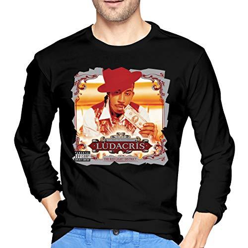 LilianR Ludacris The Red Light District Mens Long Sleeve Tshirt Black XL