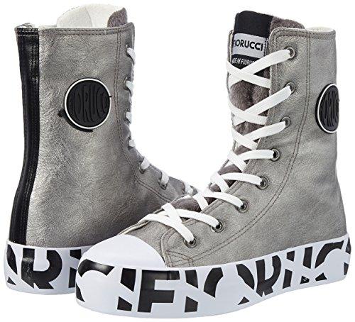 Donna Alto A Collo Piombo piombo Grigio Feim042 Sneaker Fiorucci 4q1wnB6R