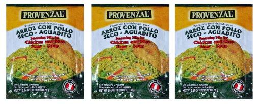 Arroz con Pollo Provenzal 3 pack of 2.04 oz each - 3 sobres by Provenzal