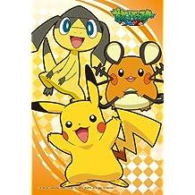 Ensky 150-465 Pokemon XY Pikachu Dedenne Helioptile Jigsaw Puzzle (150 Mini Pieces)