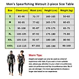 Nataly Osmann Camo Spearfishing Wetsuits Men 3mm