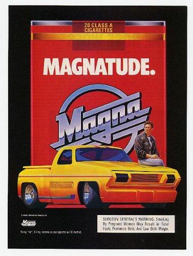 Magna Print - PRINT AD For 1990 Magna Magnatude Lowrider PickupPRINT AD