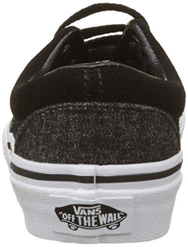 Vans Unisex-Kinder Era Laufschuhe Grau (Blacksuede/suiting)