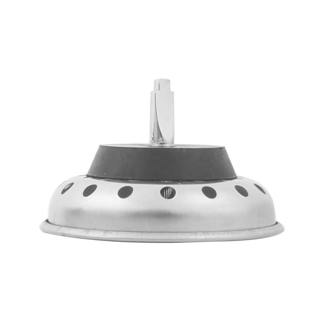 Amazon.com: eDealMax metal del hogar Ronda de residuos de basura Escurridor fregadero Colador 8 cm Dia tono de plata: Kitchen & Dining